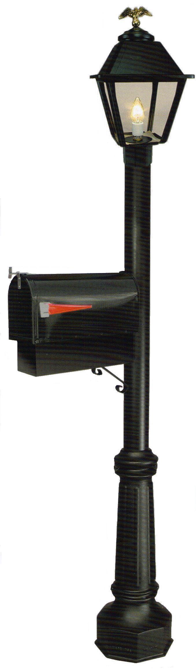 mailbox and newspaper holder posts outdoor gas street. Black Bedroom Furniture Sets. Home Design Ideas